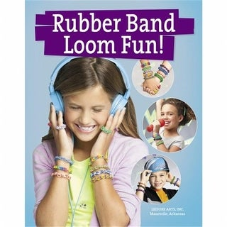 Leisure Arts LA-6343 Leisure Arts-Rubber Band Loom Fun