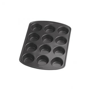 Wilton 2105-6789 Perfect Results Muffin Pan, 12 Cup