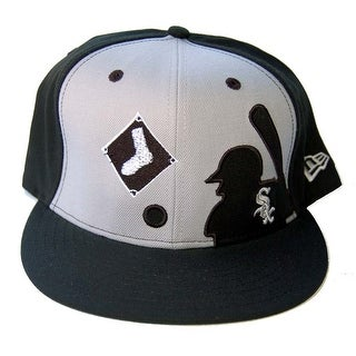 MLB Chicago White Sox New Era 59Fifty 100% Wool Baseball Player Fitted Hat