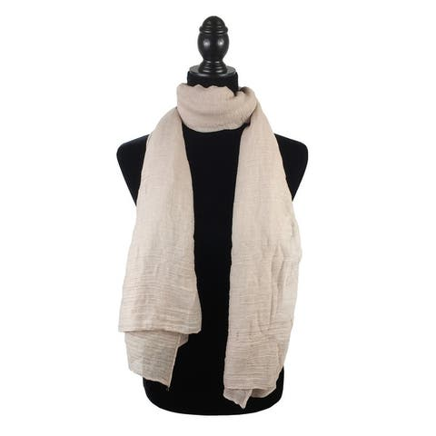 e5b8bf6680032c Buy Brown Scarves Online at Overstock   Our Best Scarves & Wraps Deals