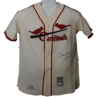 1c122c748c2 Shop Stan Musial Autographed St Louis Cardinals Mitchell Ness Flannel Jersey  JSA - Free Shipping Today - Overstock - 19983391