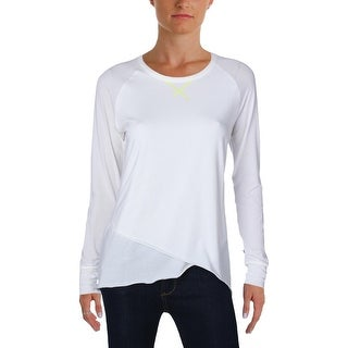 New Balance Womens Pullover Top Fitness Long Sleeves