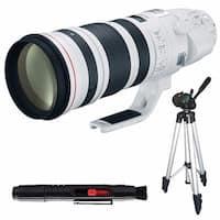 Canon EF 200-400mm f/4L IS USM Lens (International Model) + Full Size Tripod Bundle