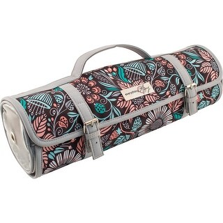 """Everything Mary Roll-Up Yarn Case-15""""X15""""X5"""" Multi-Color Pri - 15""""x15""""x5"""" multi-color print"""
