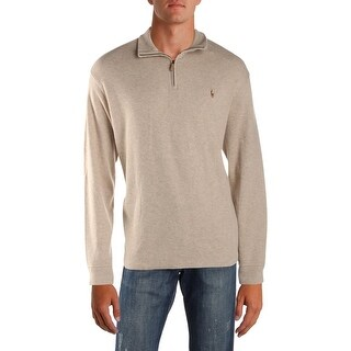 Polo Ralph Lauren Mens Pullover Sweater Mock Neck Long Sleeves - XL