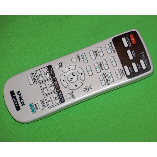 Epson Projector Remote Control PowerLite Home Cinema 750HD, PowerLite W16, W16SK
