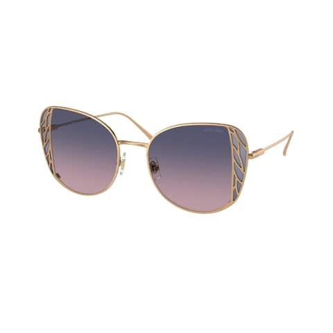 Miu Miu MU 57XS 7OE06N 52 Brass Woman Butterfly Sunglasses