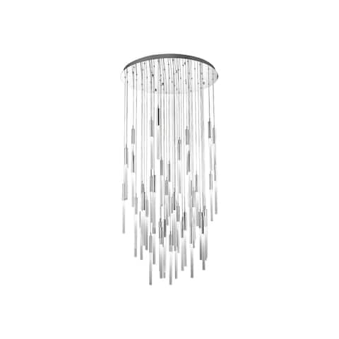 Avenue Lighting HF2051FRPN 51 Light Pendant Main St. Polished Nickel - One Size
