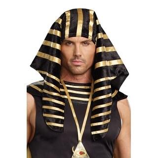 Dreamgirl Pharaoh Head Piece - Black/gold