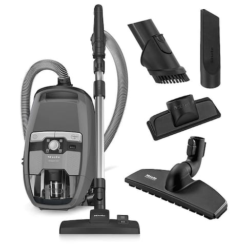 Miele Blizzard CX1 Pure Suction Canister Vacuum Cleaner + SBD285-3 Rug & Floor Tool + SBB300-3 Parquet Twister + More!