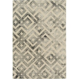 Surya SRF2001-810 Serafina 8' x 10' Rectangle Wool Hand Hooked Geometric Area Ru - Beige