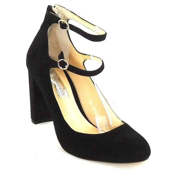 INC International Concepts Womens Mulli Closed Toe Ankle Strap, Black, Size 11.0
