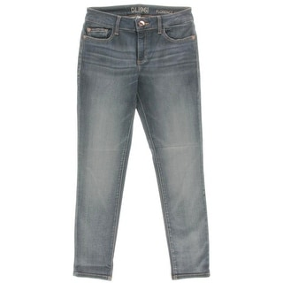 DL1961 Womens Florence Cropped Jeans Instasculpt Low-Rise