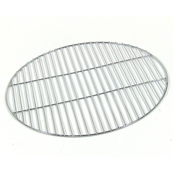 Sunnydaze Chrome Plated Cooking Grate for Grilling, 19 Inch Diameter - Silver