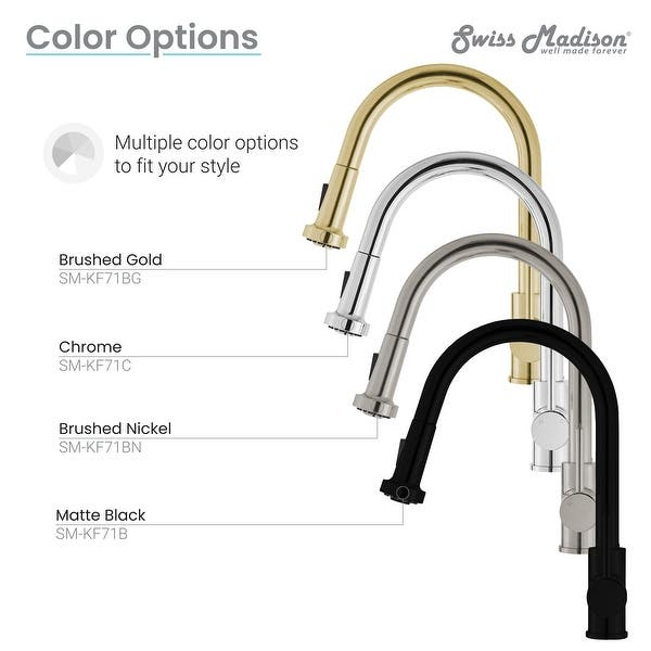 Nouvet Single Handle Pull Down Kitchen Faucet Overstock 32455752