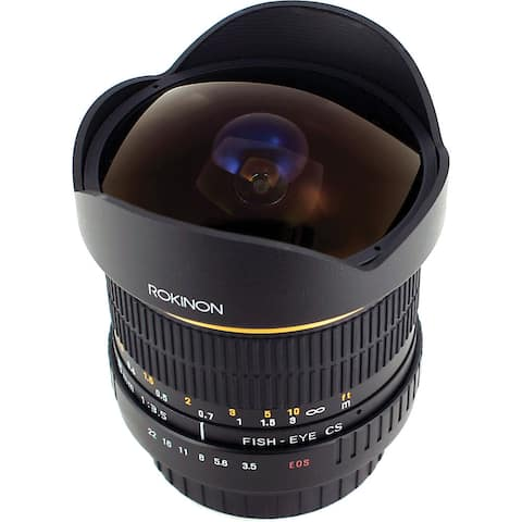 Rokinon 8mm f/3.5 Fisheye Lens for Nikon F - Black