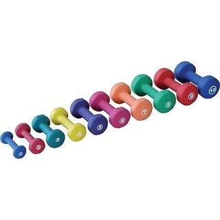 York Barbell 443102 Neoprene Fitbell, Red - 2 lbs
