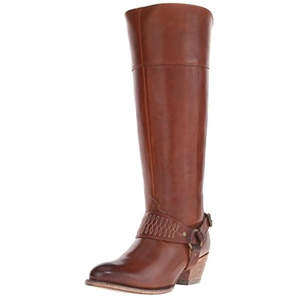 Ariat Womens Sadler Leather Knee-High Harness Boots