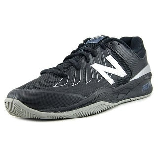 New Balance MC1006 Men Round Toe Synthetic Black Tennis Shoe