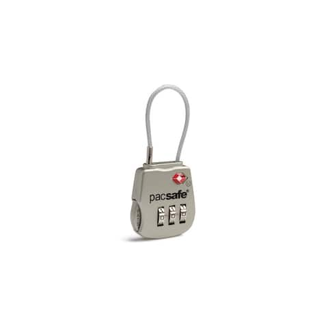 Pacsafe Prosafe 800 TSA Accepted 3 Dial Resettable Combination Lock(Single Pack)