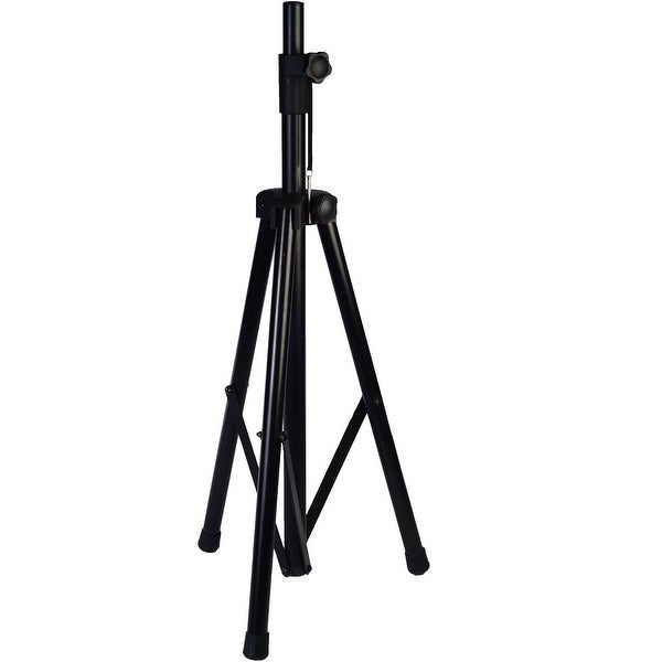 """LyxPro SKS-1 Tripod Speaker Stand, Up to 6 Feet Adjustable Height - For Speakers w/ 1-3/8"""" and 1-1/2"""" Sockets"""