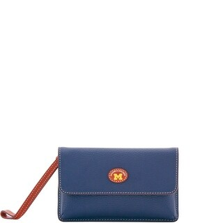Dooney & Bourke NCAA Michigan Milly Wristlet (Introduced by Dooney & Bourke at $118 in Jul 2018)