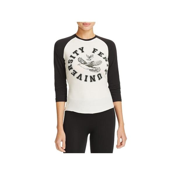 Shop Fenty Puma by Rihanna Womens Baseball Tee Printed Colorblock ... fa4a12533