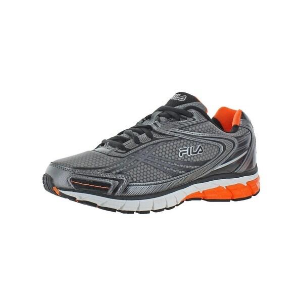 6e7f6b73a67b4 Shop Fila Mens Nitro Fuel 2 Energized Running Shoes Lightweight Cool ...