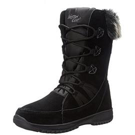Western Chief Womens Ellie Cow Suede Waterproof Snow Boots - 7 medium (b,m)