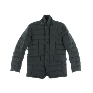 The Men's Store Mens Coat Down Quilted - M