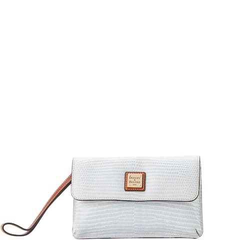 Dooney & Bourke Embossed Lizard Milly Wristlet