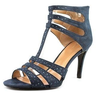 Style & Co Ulani 2 Open-Toe Leather Heels