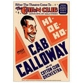 ''Cab Calloway: The Cotton Club NYC, 1931'' by Anon Concert Posters Art Print (24 x 17 in.) - Thumbnail 0