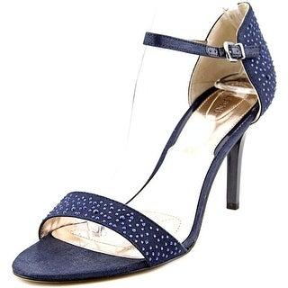 Alfani Pyrra Women  Open Toe Canvas Blue Sandals