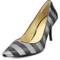 Michael Kors Womens MK-Flex Mid Pump Pointed Toe Classic Pumps