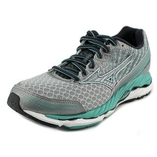 Mizuno Wave Paradox 2 Women D Round Toe Synthetic Silver Running Shoe