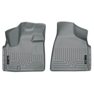 Husky Weatherbeater 2008-2016 Chrysler Town & Country Grey Front Floor Mats/Liners