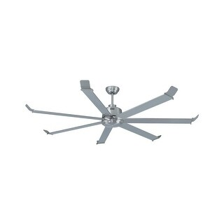 """Miseno MFAN-0701 70"""" Indoor Ceiling Fan - Includes 7 Aluminum Blades - Brushed nickel"""