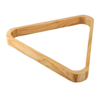 Link to Billiard Pool Table Accessory Wooden 5.25cm Dia Ball Triangle Rack Holds Similar Items in Billiards & Pool