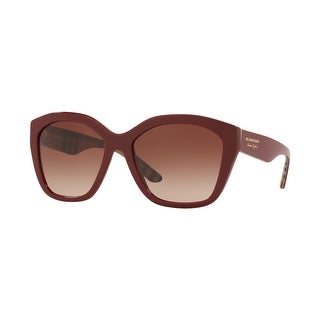 Link to Burberry BE4261F 383513 57 Bordeaux Woman Irregular Sunglasses Similar Items in Women's Sunglasses
