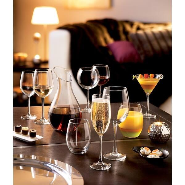 Luminarc 15 Ounce Cachet Stemless Wine Glass Set Of 4 Overstock 22277052