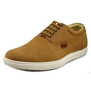Madden Men Renold Men   Leather Tan Fashion Sneakers