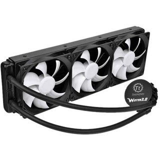 Thermaltake CL-W007-PL12BL-A Thermaltake Water 3.0 Ultimate Cooling Fan/Water Block - 3 x 120 mm - 2000 rpm - Liquid Cooler -