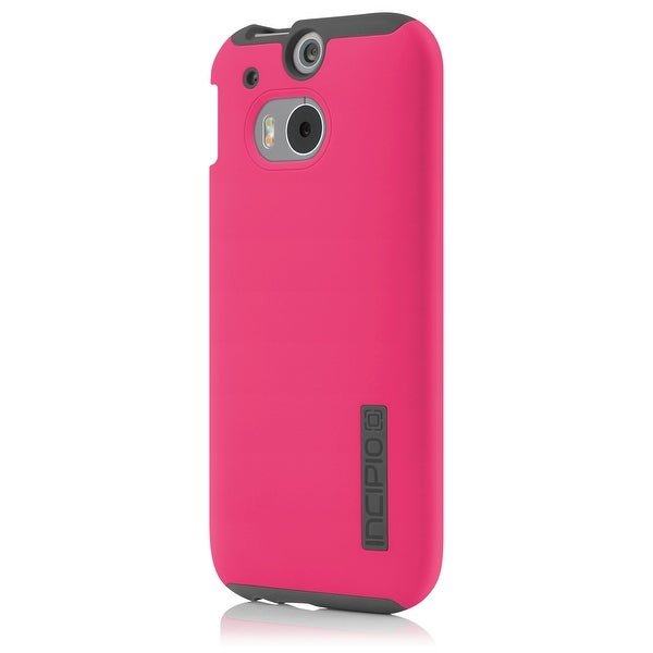 various colors 643fc b1a39 Shop Incipio DualPro Shock-absorbing Case for HTC One M8 - Pink/Gray ...