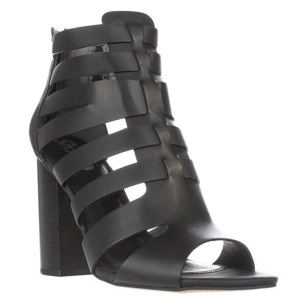 Circus Sam Edelman York Strappy Dress Sandals, Black