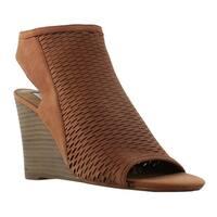 Steve Madden Womens Brown Wedge Heels Size 9