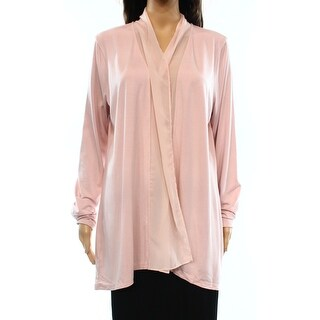 Lauren Ralph Lauren NEW Pink Women's Size Large L Cardigan Sweater