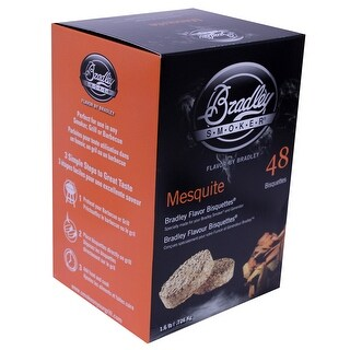 Bradley Smokers Btmq48 Mesquite Flavour Bisquettes Pack Of 48