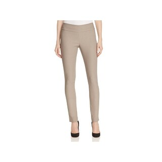 Nic + Zoe Womens WonderStretch Dress Pants Ponte Slim Fit