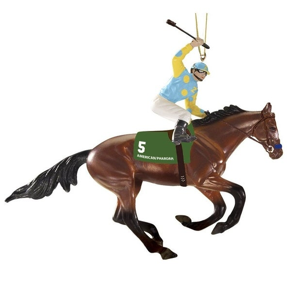 American Pharoah Holiday Ornament
